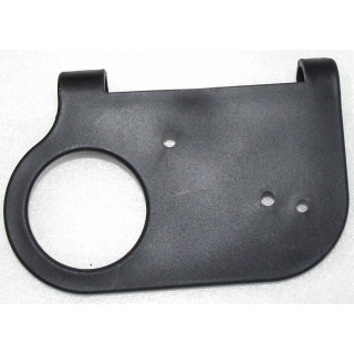 Крышка корпуса указателя поворотов, левая, пластик, LU018617