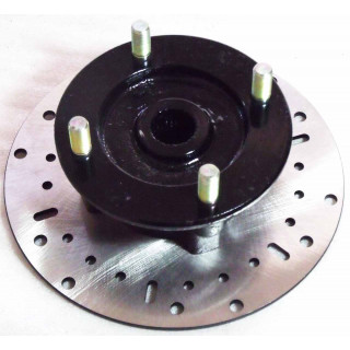 Фланец крепления переднего алюмин.диска, в сборе (см.код - LU095432), LU018520
