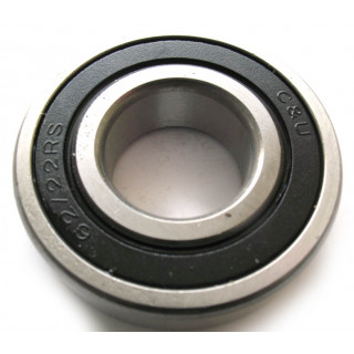 Подшипник шариковый радиальный 6206-2RS 30х62х16мм, LU018057