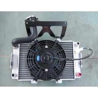 Радиатор системы охлаждения, в сборе, LU029267