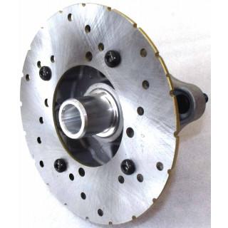 Фланец заднего колеса с тормозным диском правый, в сборе, LN001693