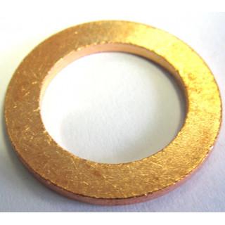 Шайба 10.0х16.2х1.2мм, медь, LU022680