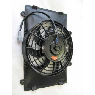 Электровентилятор радиатора, в сборе, LU021851