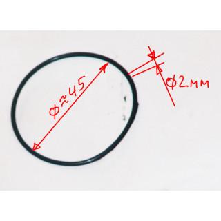 Кольцо уплотнительное 43.5x2мм, резина, LU022777