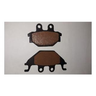 Колодка тормозная (диск.тормоз), LU091749