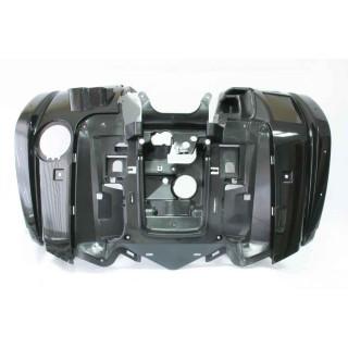 Щиток кузова облицовочный передний (черный), LU022359