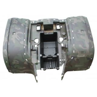 Щиток кузова облицовочный задний (защитный зеленый), LU022322