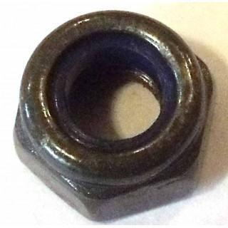 Гайка самоконтрящаяся М6х1.0 мм, сталь, LU022159