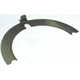 Прокладка регулир.конич.шестерни выходного вала 0.15мм, сталь, LU022995