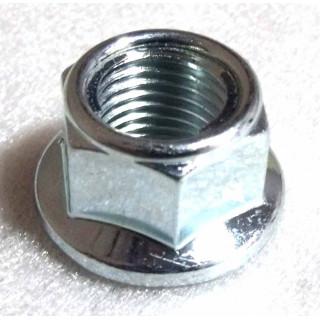Гайка с фланцем самоконтр.M14х1.5, сталь, LU016483
