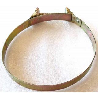 Хомут переходного патрубка вентиляции вариатора 87 мм, сталь, LU022178