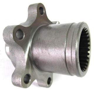 Фланец крепления тормозного диска заднего тормоза (см.аналог - LU025453), LU022539