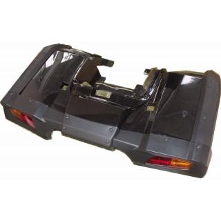 Щиток кузова облицовочный задний, в сборе (черный), LU029262