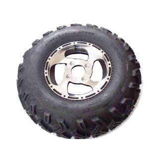 Колесо в сборе (шина AT25x8-12 (WANDA) + диск12х6.0,алюмин.сплавF105), LU032012