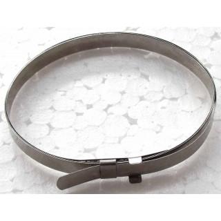 Хомут пыльника привода колеса (большой), сталь, LU022080