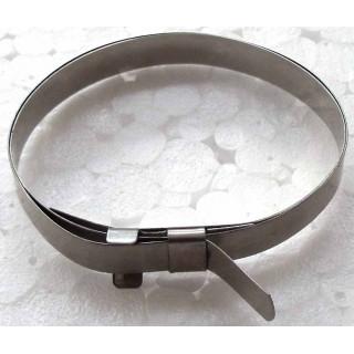 Хомут пыльника привода колеса (малый), сталь, LU022081