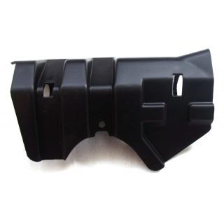 Щиток защитный переднего рычага подвески нижний, левый, LU021976