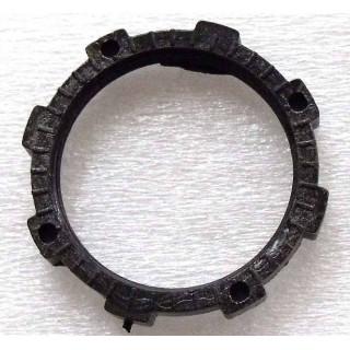 Гайка крепления розетки бортовой эл.сети, пластик, LU021846