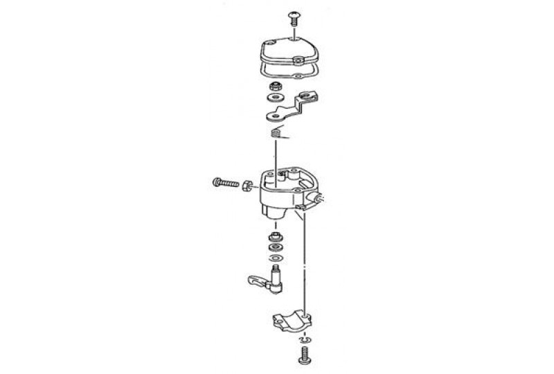 Блок управления дроссельной заслонкой, в сборе (см.код - LU021866), LU021878
