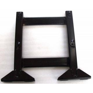 Кронштейн опоры для ног левый, сталь, LU022247