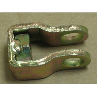 Вилка крепления троса тормоза, сталь, LU028826