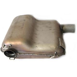 Глушитель резонаторного типа, в сборе, сталь (см.аналог - LU078970), LU042524