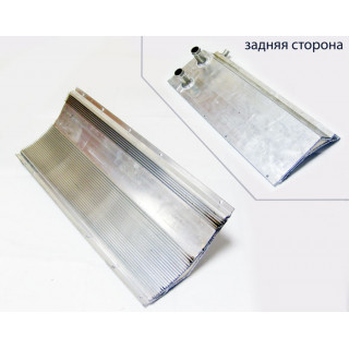 Радиатор системы охлаждения нижний, ал.сплав, JU051993