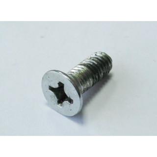 Винт с потайн.головкой и крест.шлицем M6x1.0x16мм,сталь, LU024276