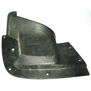 Щиток облицовочный топливного бака левый, пластик, JU051921