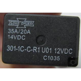 Реле включения электропотребителей (301-1C-C-R1 U01), 12В (см.аналог - LU069339), LU068035