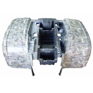 Щиток кузова облицовочный задний (камуфляж бежевый), пластик, JU074878