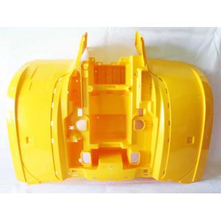 Щиток кузова облицовочный задний (желтый), пластик, JU066560