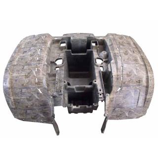 Щиток кузова облицовочный задний (камуфляж коричневый), пластик, LU079742