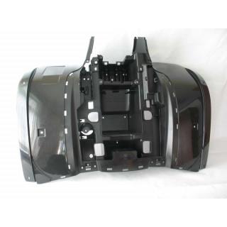 Щиток кузова облицовочный задний (черный), пластик, JU065017