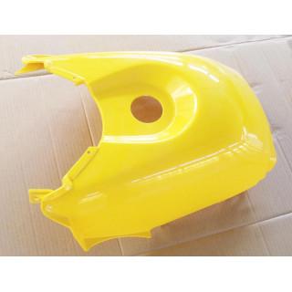 Щиток облицовочный топливного бака (желтый), пластик, JU066562