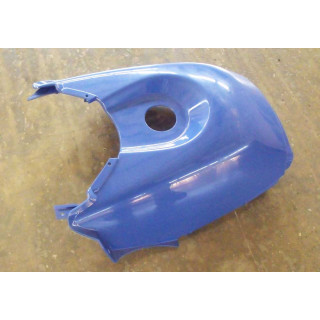 Щиток облицовочный топливного бака (синий), пластик, JU066446