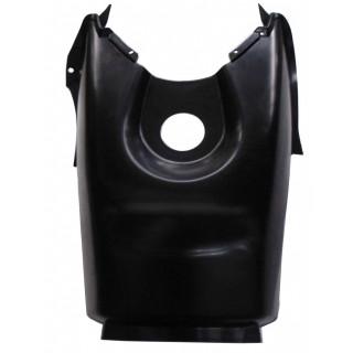 Щиток облицовочный топливного бака (черный), пластик, JU065029