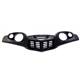 Щиток облицовочный передних блок-фар, пластик, JU065011