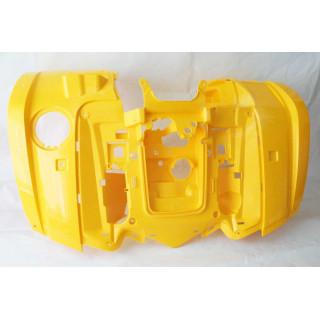 Щиток кузова облицовочный передний (желтый), пластик, JU066561