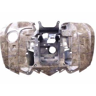 Щиток кузова облицовочный передний (камуфляж коричневый), пластик, LU079741