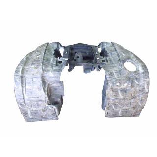 Щиток кузова облицовочный передний (камуфляж бежевый), пластик, JU074877