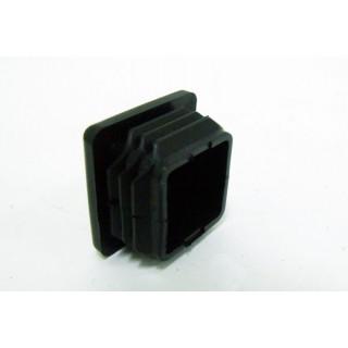 Заглушка рамы передняя квадрат (18,5х18,5 (с ребрами 22,5х22,5); крышка 25х25; H=14,5), LU045270