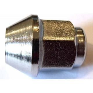 Гайка колесная М10х1.25мм (L=25мм), хромир.сталь, LU028803