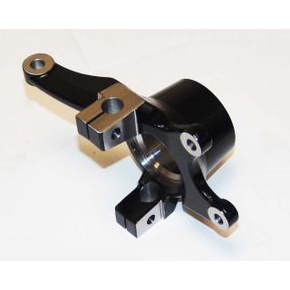 Кулак поворотный передний левый, сталь, LU074714