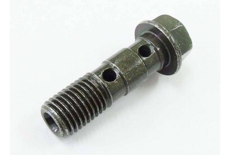 Болт-штуцер M10х1.25х33мм, сталь, LU080689
