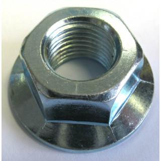 Гайка с фланцем M14х1.5мм, сталь, LU022508