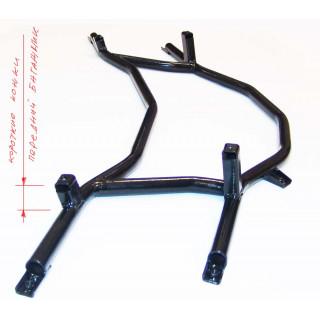 Каркас багажника переднего, черный (МУАР) (см.новый код - JU103824), JU091928