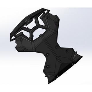 Защита радиатора, черный, LU091722