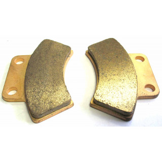 Колодки тормозные стояночного тормоза (см.аналог LU052824), LU029679