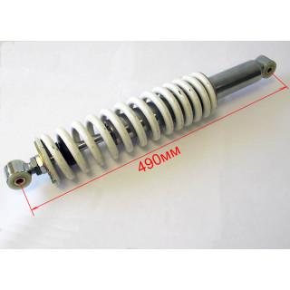 Амортизатор пружинно-гидравлический передний (белый), LU049759